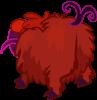 Fluffy Backside Monster View