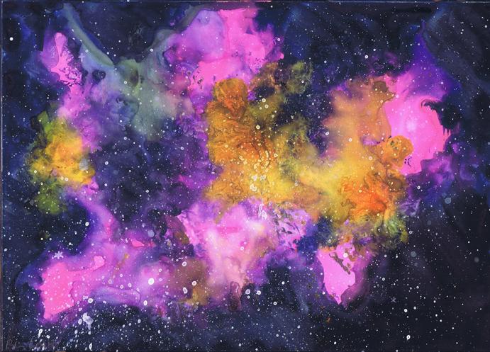 A Nebula Painting | Beth Carson