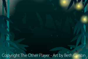 Firefly Bamboo Forest Background Art for Game - The Other Player Art by Beth Carson