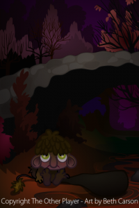 Troll Bridge Background Art for Game - The Other Player Art by Beth Carson