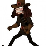 Witchfinder General Character Game Character - Copyright The Other Player, Art by Beth Carson