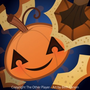 Pumpkin game icon – copyright The Other Player, Art by Beth Carson