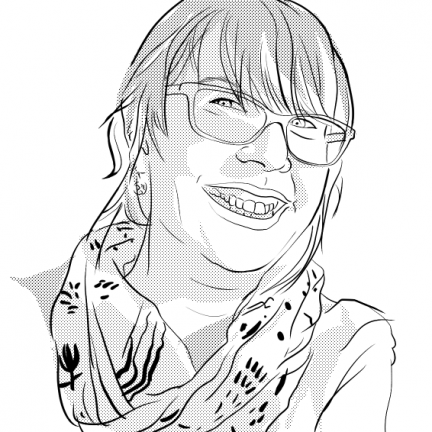 Self Portrait Beth Carson