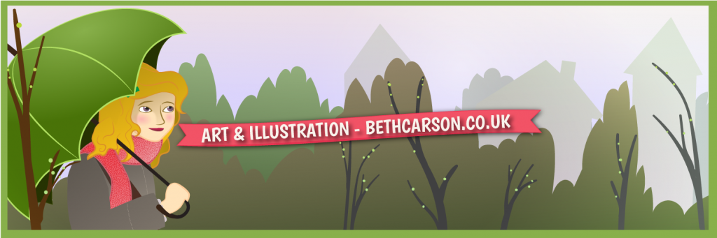 Twitter Header Vector Art February